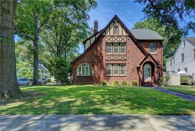 Norfolk Residential For Sale: 1442 Bolling Ave