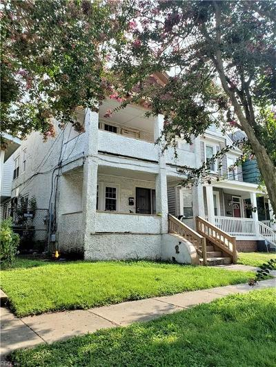 Norfolk Multi Family Home For Sale: 891 A Ave