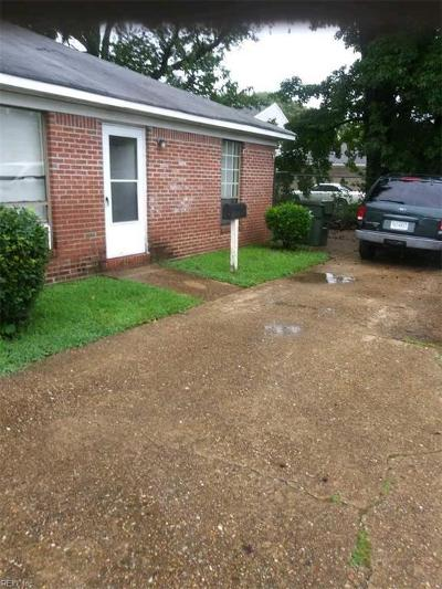 Norfolk VA Multi Family Home For Sale: $171,900