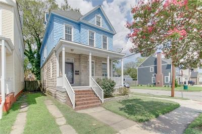 Norfolk VA Multi Family Home For Sale: $220,000