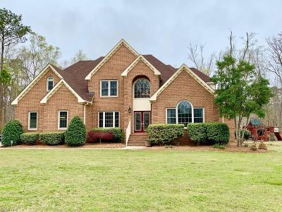 Chesapeake Residential For Sale: 3712 Cypress Mill Rd