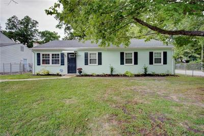 Newport News Residential For Sale: 14227 Deloice Cres