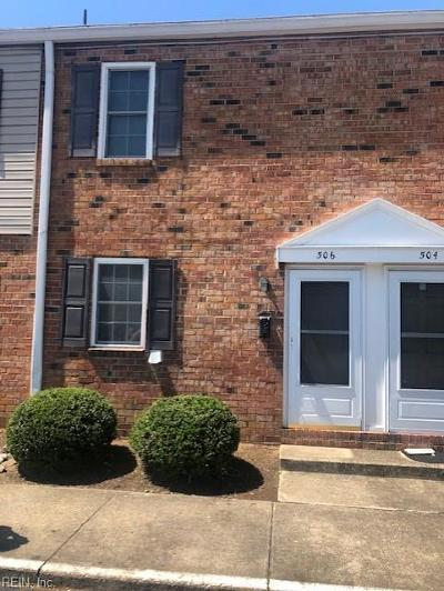 Newport News Residential For Sale: 506 Genneys Way