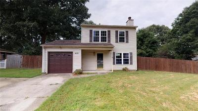 Newport News Residential For Sale: 409 Pam Ln
