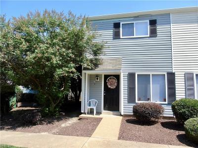 Newport News Residential For Sale: 156 Jenness Land #A