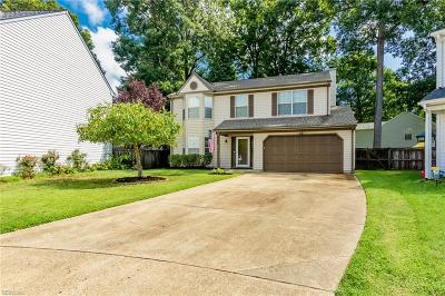 Newport News Residential New Listing: 908 Bellgate Ct