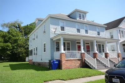 Norfolk VA Multi Family Home Under Contract: $128,000