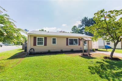 Newport News Residential For Sale: 518 Reddick Rd