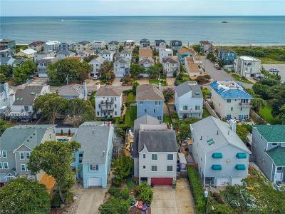 Virginia Beach Residential New Listing: 828 Surfside Ave