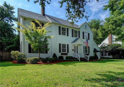 Norfolk Residential For Sale: 6025 Eastwood Ter