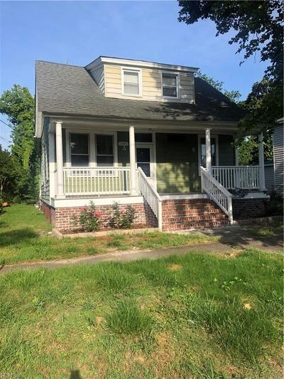 Portsmouth Multi Family Home New Listing: 2301 Charleston Ave