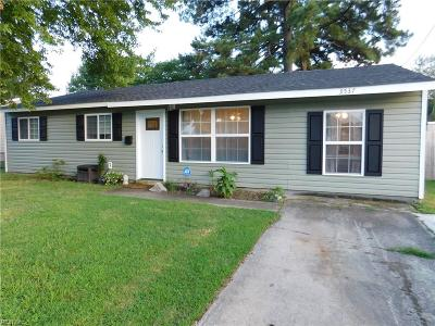 Virginia Beach Residential New Listing: 3537 Barry St