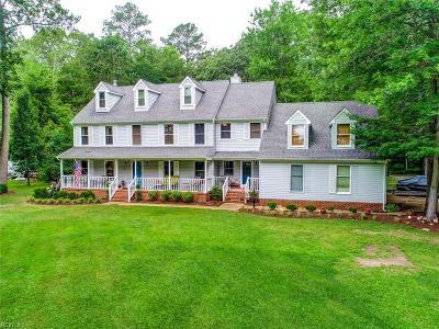 Chesapeake Residential New Listing: 520 John Etheridge Rd