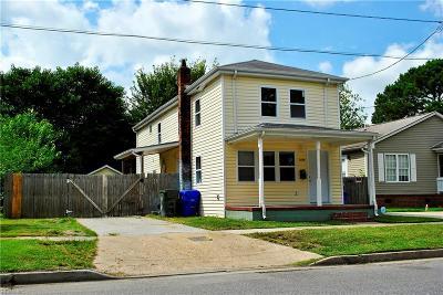 Norfolk Residential New Listing: 1519 Melon St