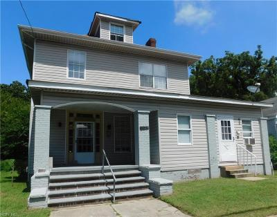 Newport News Residential New Listing: 1023 25th St