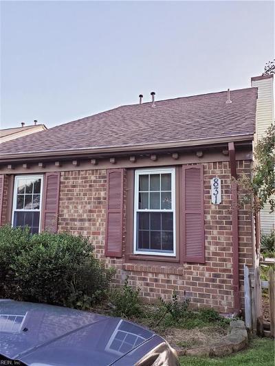 Virginia Beach Residential New Listing: 831 Cannonade Trl