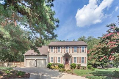 Newport News Residential New Listing: 1807 Clearwater Ct