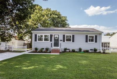 Newport News Residential New Listing: 1103 74th St