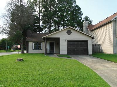 Virginia Beach Residential New Listing: 621 Pine Lake Dr