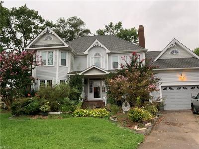 Virginia Beach Residential New Listing: 2208 Millwheel Ct