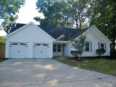 Virginia Beach Residential New Listing: 2744 Orleans Way