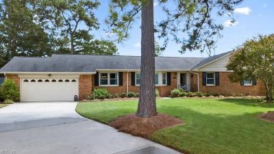 Virginia Beach Residential New Listing: 5200 Academy Ct