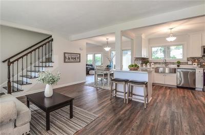 Virginia Beach Residential New Listing: 5621 Rapahannock Rd
