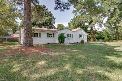 Chesapeake Residential New Listing: 3316 Hornsea Rd
