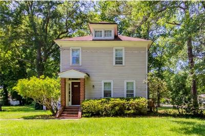 Portsmouth Multi Family Home New Listing: 3556 Tyre Neck Rd