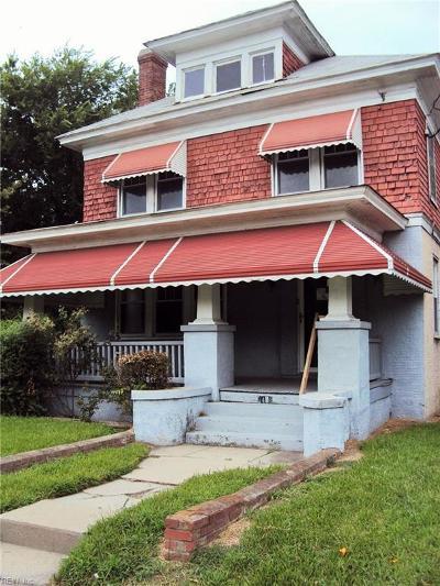 Portsmouth Residential New Listing: 1418 Portsmouth Blvd