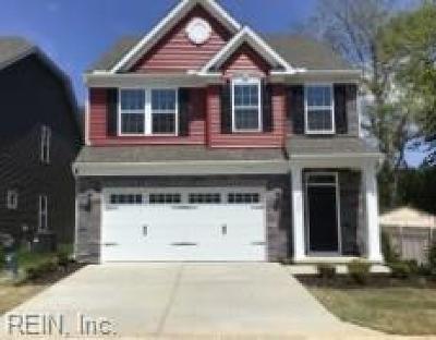 Virginia Beach Residential Under Contract: 5504 Loneleaf Way