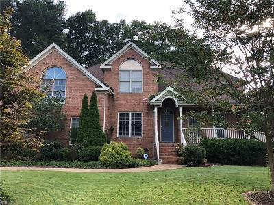 Chesapeake Residential New Listing: 352 Naples Ct