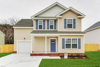 Chesapeake Residential New Listing: 2826 Solomon St