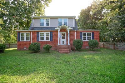 Williamsburg Residential New Listing: 8735 Pocahontas Trl