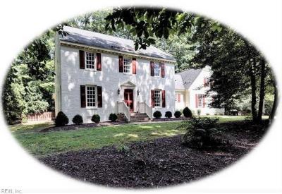 Williamsburg Residential New Listing: 229 E Tazewells Way