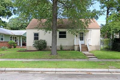 Norfolk Residential New Listing: 1806 Bourbon Ave