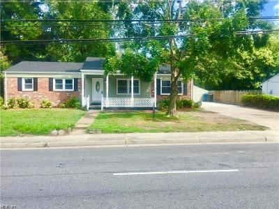 Virginia Beach Residential New Listing: 556 S Rosemont Rd