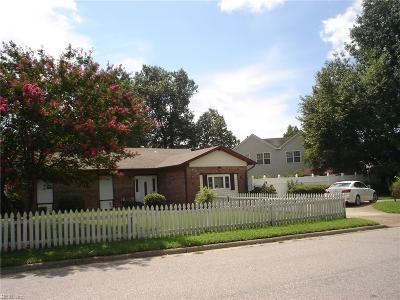 Virginia Beach Residential New Listing: 5149 Holly Farms Dr