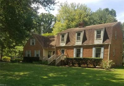Chesapeake Residential New Listing: 224 Melonie Dr