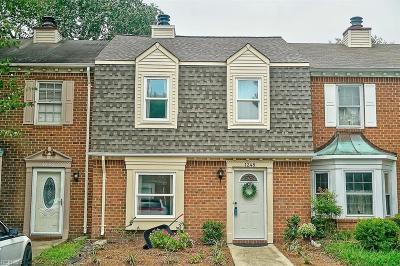 Chesapeake Residential New Listing: 1248 Cedar Mill Sq