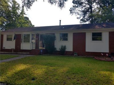 Norfolk Residential New Listing: 3575 Karlin Ave