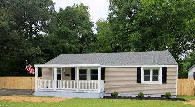 Suffolk Residential New Listing: 5757 Hawk Ln