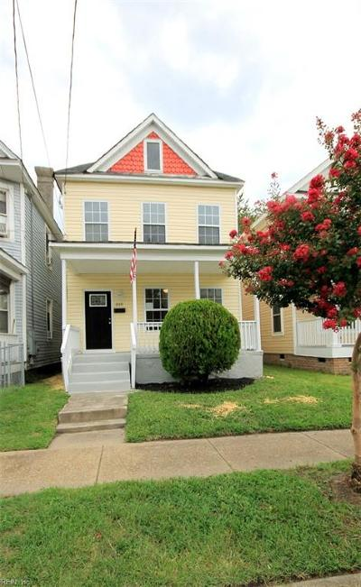 Norfolk Residential New Listing: 310 W 26th St