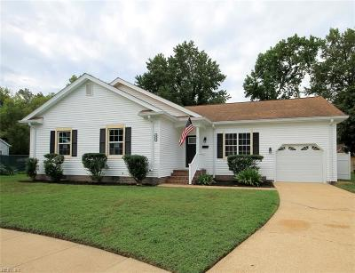 Norfolk Residential New Listing: 6821 Silverwood Ct