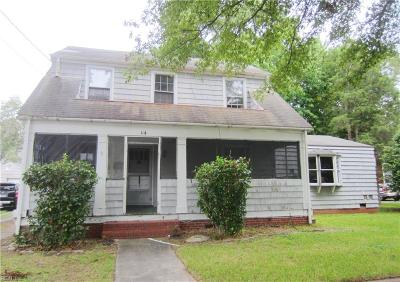Norfolk Residential New Listing: 114 W Lorengo Ave