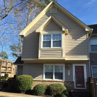 Chesapeake Residential New Listing: 401 Henley Cts #C