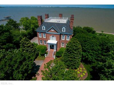 Suffolk, York County Single Family Home For Sale: 9200 Wigneil St