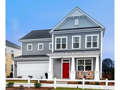 Virginia Beach Single Family Home For Sale: Mm Halstead Wedgewood Model