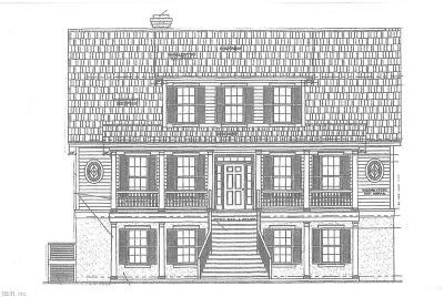 Norfolk Single Family Home For Sale: 933 Hanover Ave