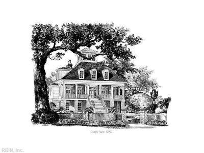 Norfolk Single Family Home For Sale: 936 Cambridge Pl